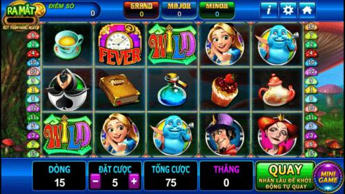 game tien len Nổ hũ khủng cùng slot game Alice