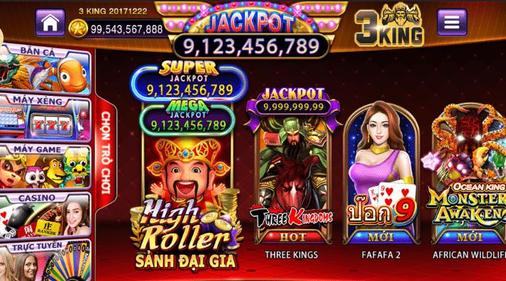 3 KING – The leading prestigious online gambling address in Vietnam